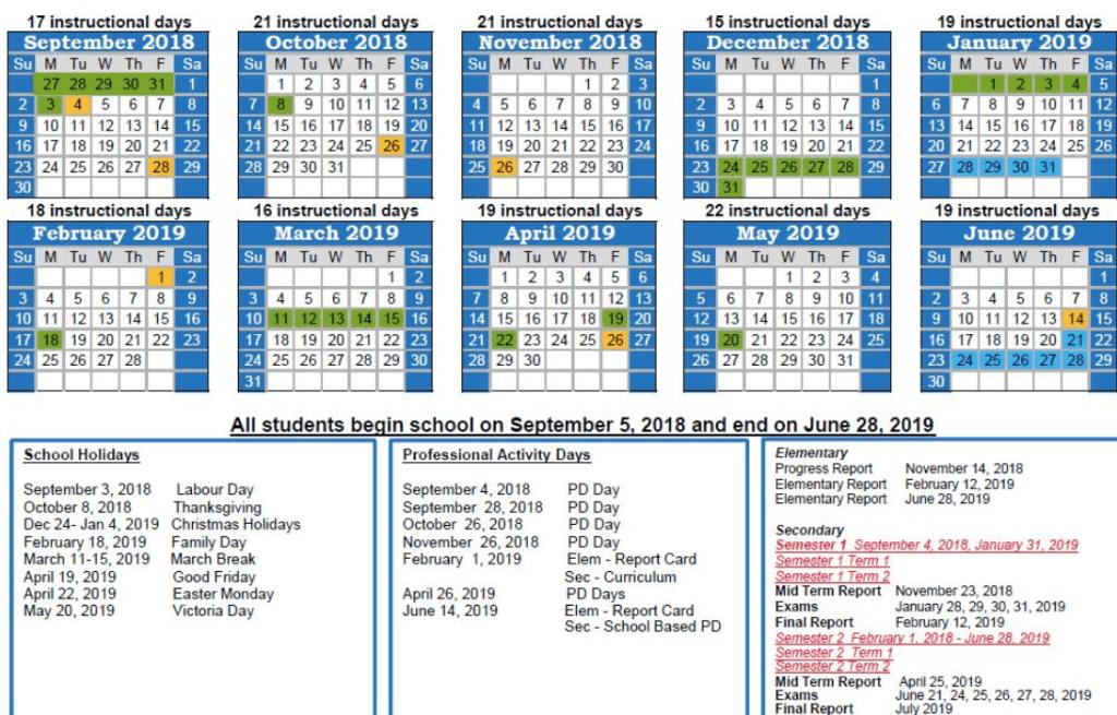 2019 Malaysia School Holidays Dates