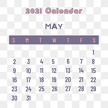 Calendar 2021 May PDF