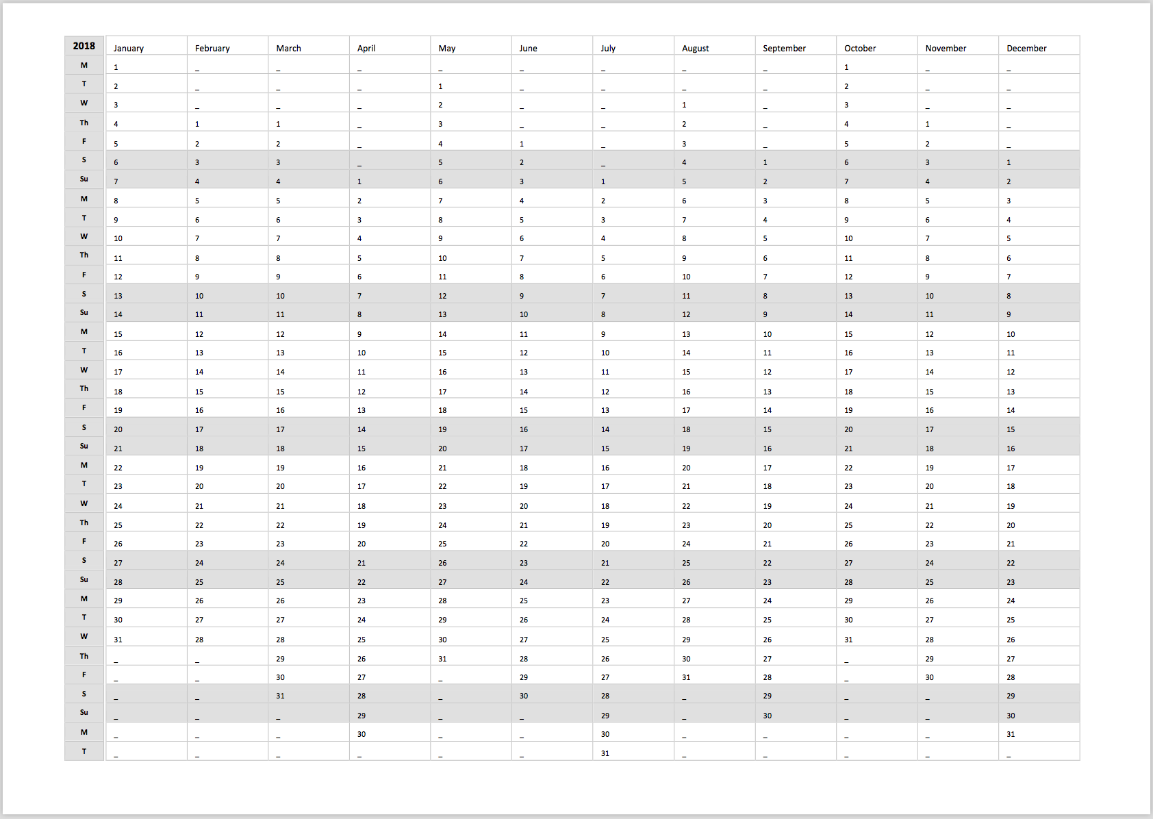 Free 2021 Printable Yearly Planner Template