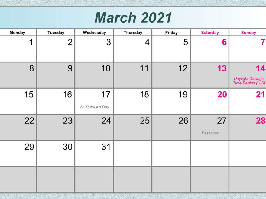 march 2021 Philippine calendar holidays