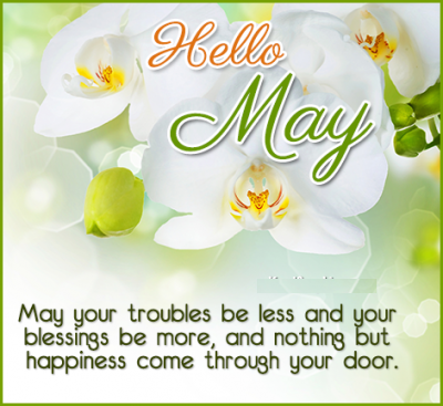 Hello May Images and Quotes