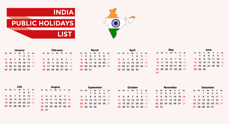 India Public Holidays List 2021